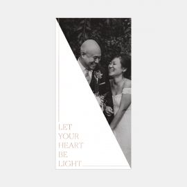 Heart Be Light Card with Foil