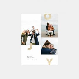 Joy Multi-Image Holiday Card