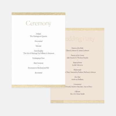 Colorblock Day-Of Details Card