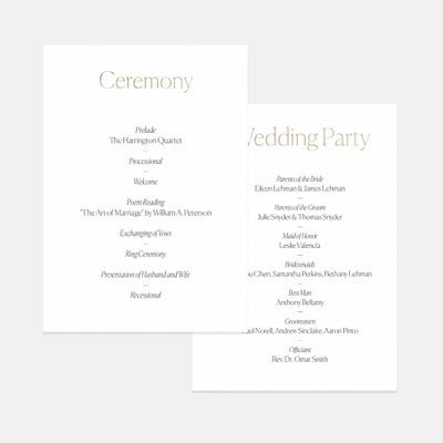 Pronounced Day-Of Details Card