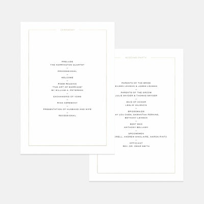 Union Day-Of Details Card