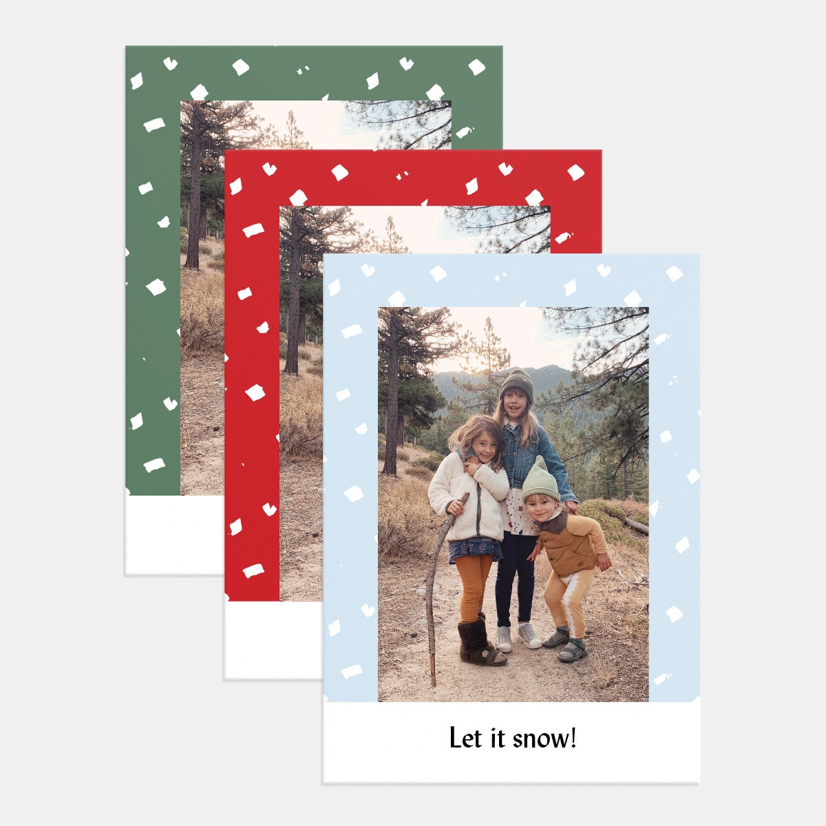 Dotted Daubs Holiday Card