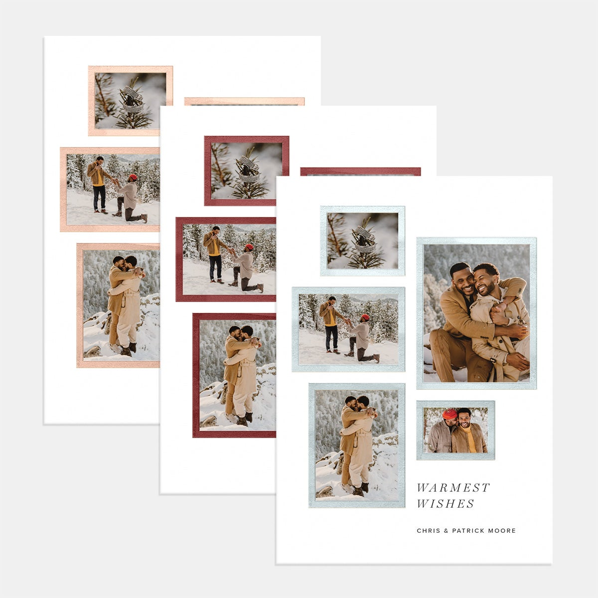 Gallery Style Holiday Card