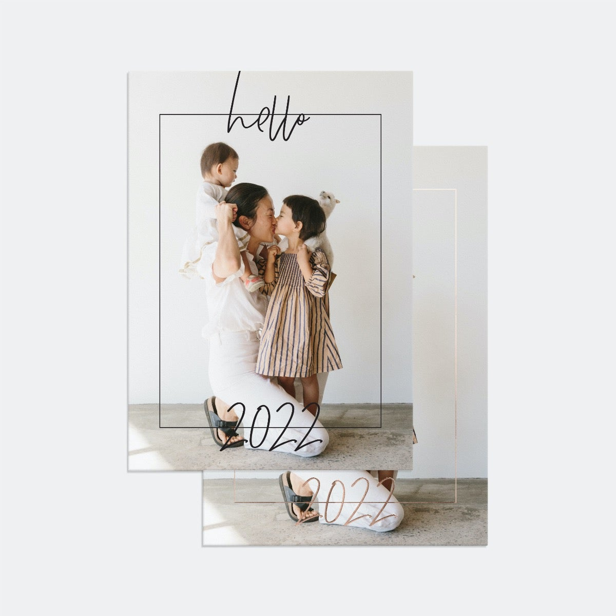 Hand-Lettered 2022 New Year Card