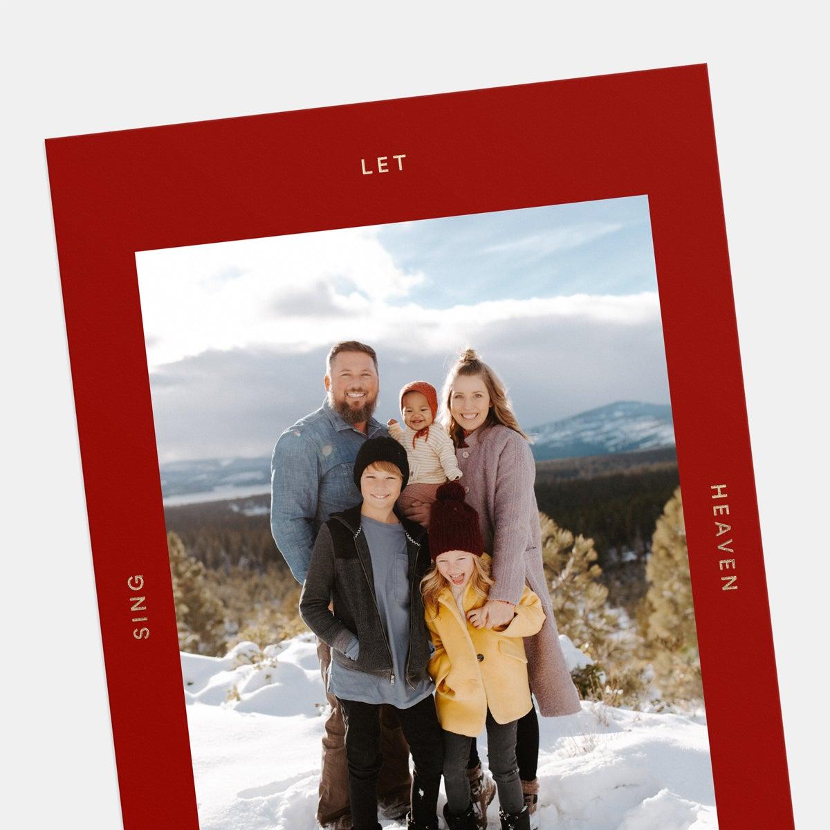 Heaven & Nature Holiday Card