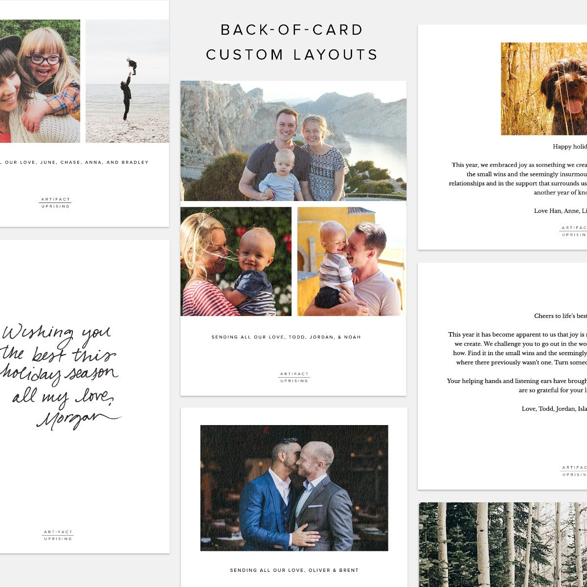 Simple Multi-Image Grid Card