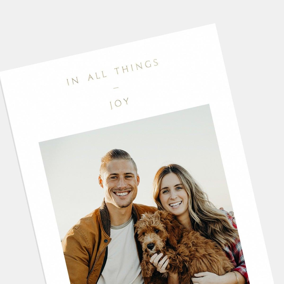 In All Things Joy Card