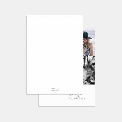 Multi-Image Thank You Card