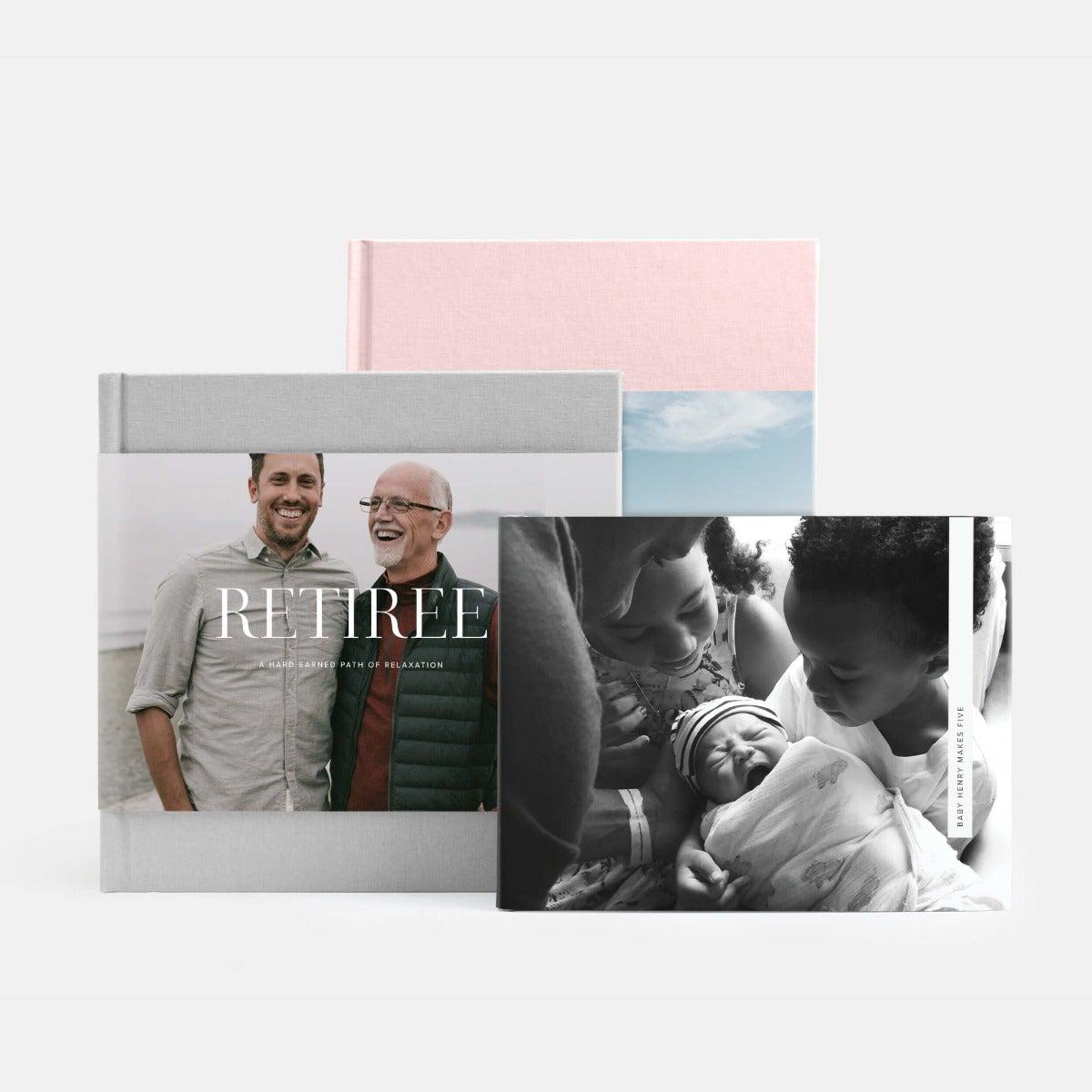 Hardcover Milestone Photo Book