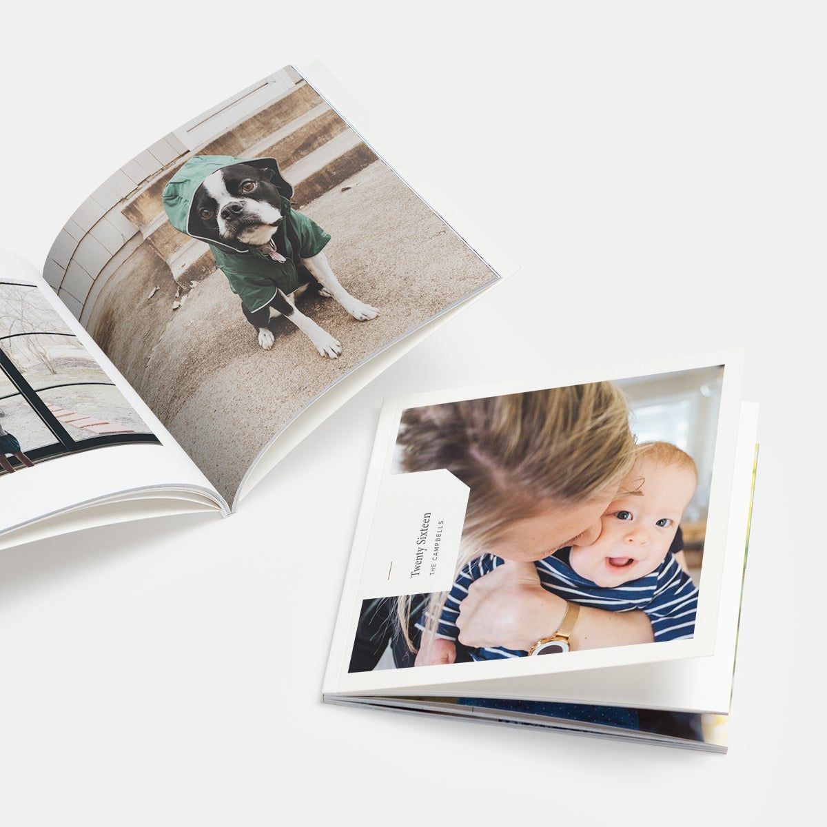 Instagram Friendly Books featuring photo of baby and little dog