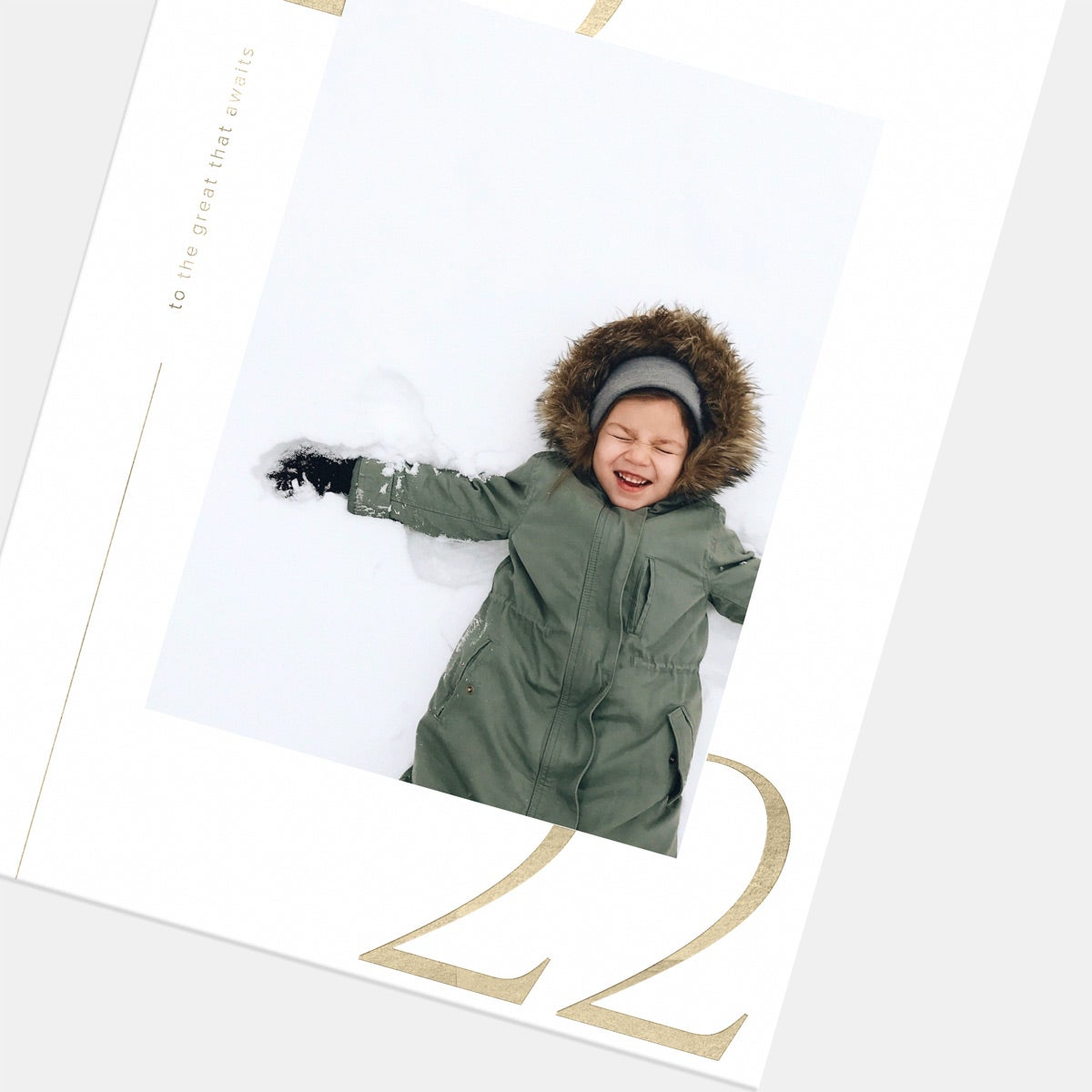 Modern 2022 New Year Card