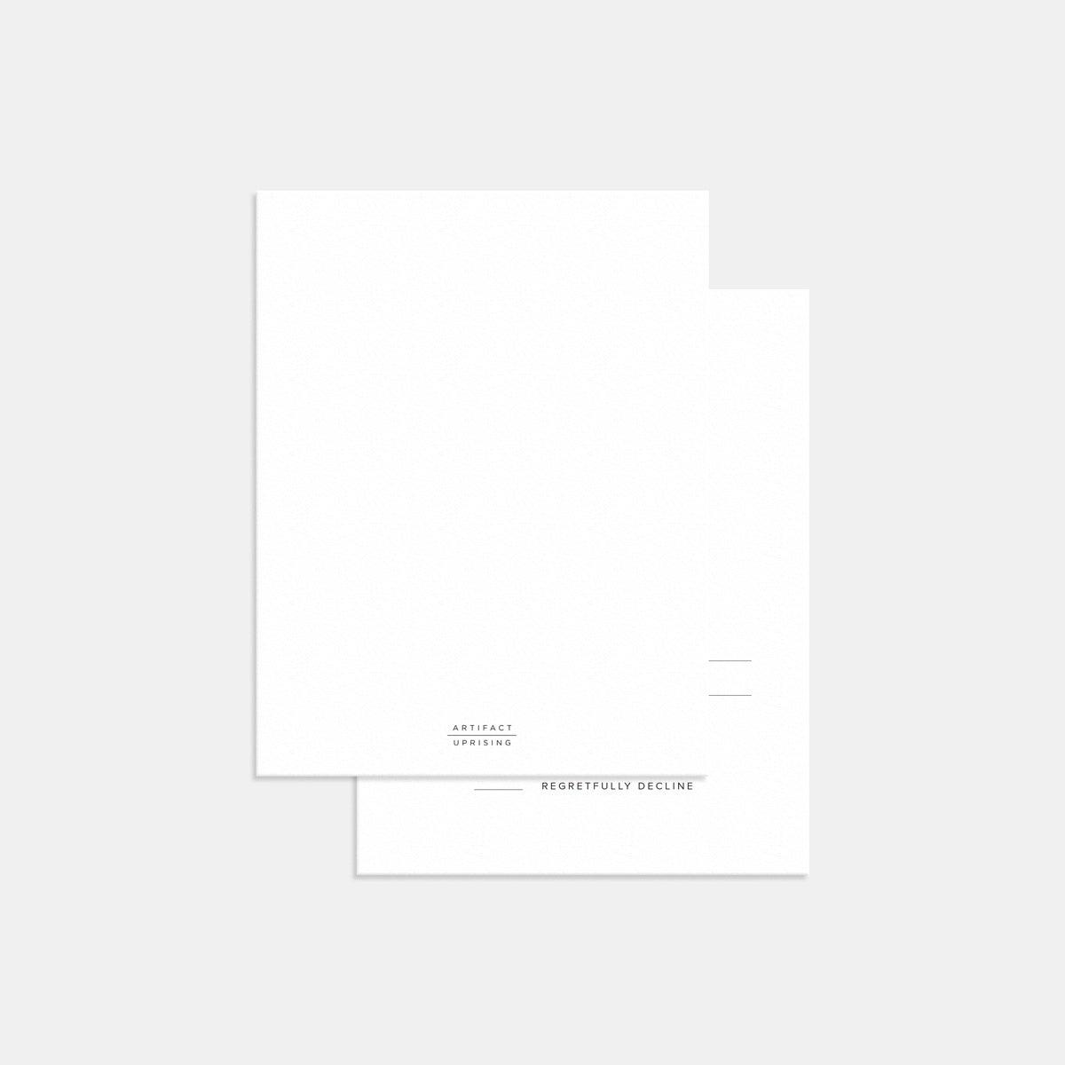 Hand-Lettered RSVP Card