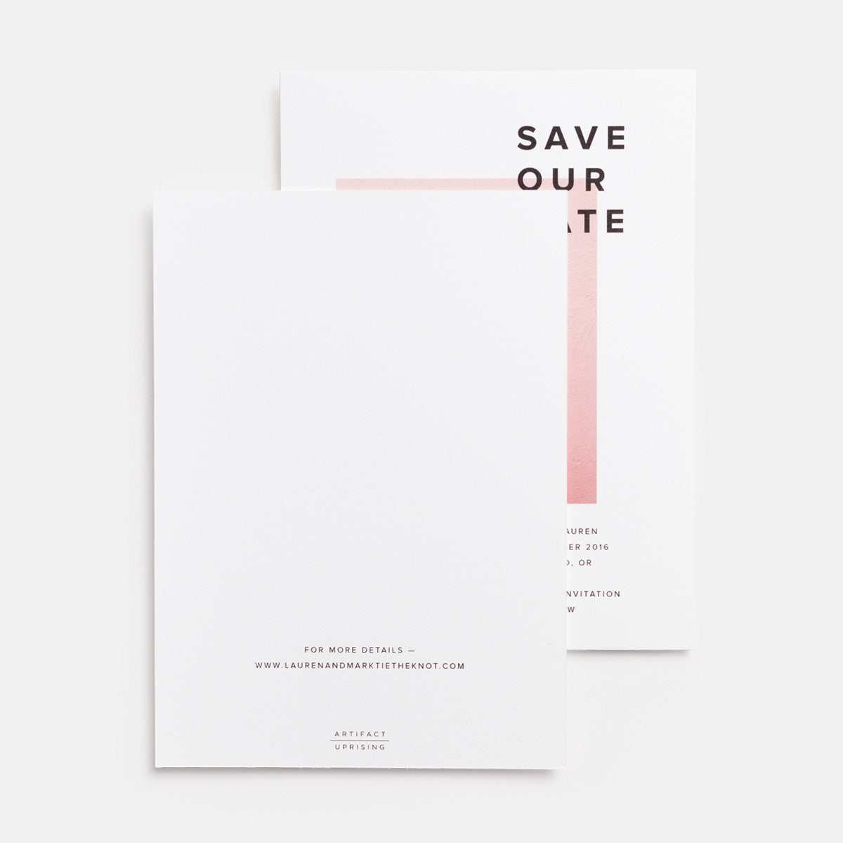 Save Our Date Card