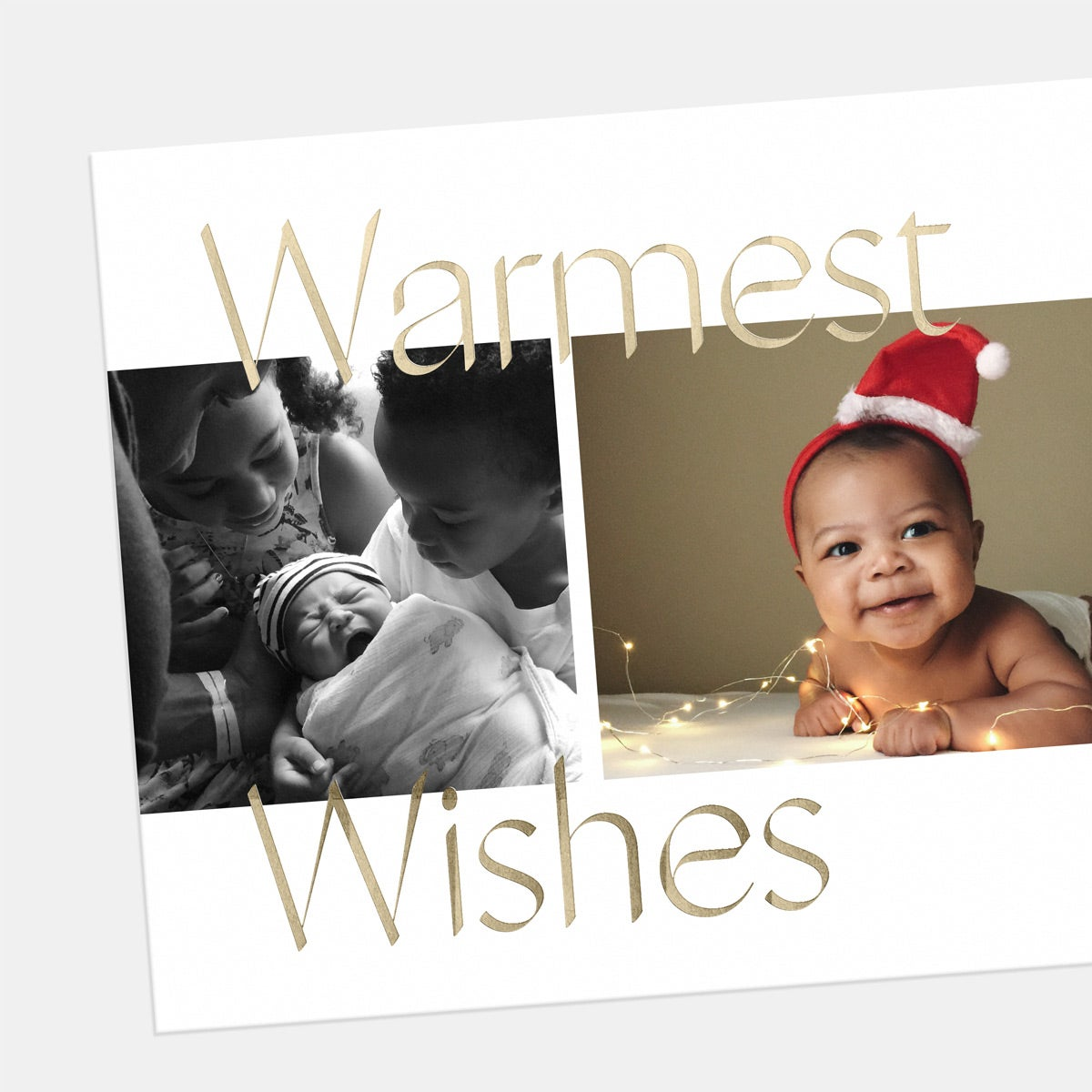Side-by-Side Holiday Card