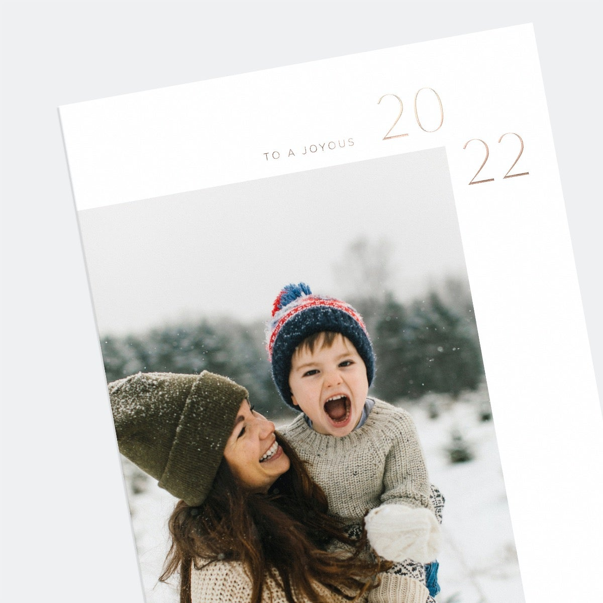 Simple 2022 New Years Card