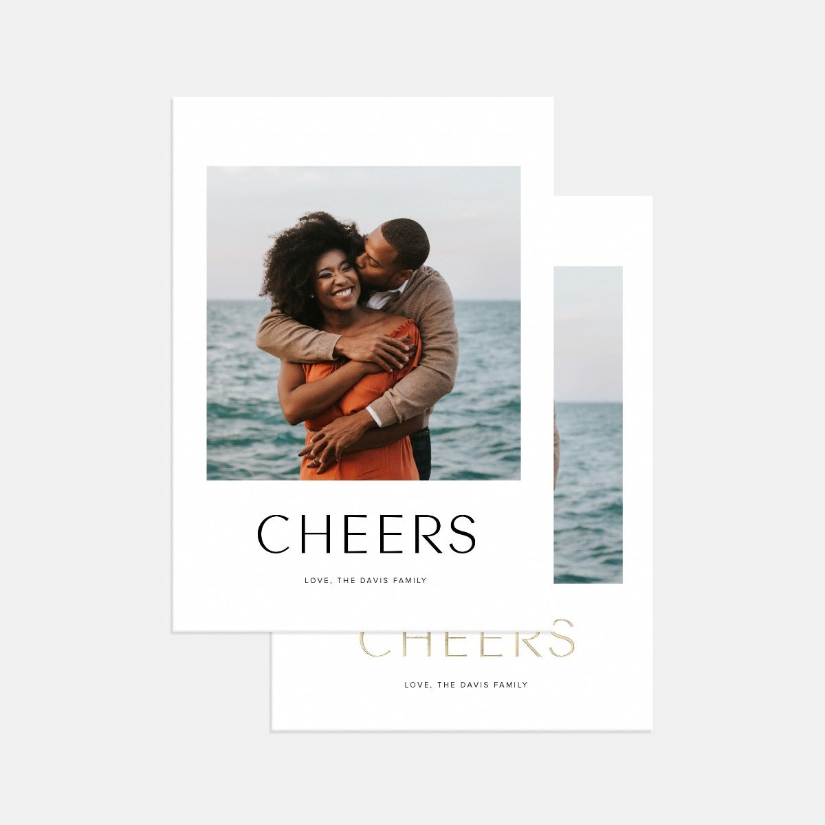 Simple Greeting Holiday Card