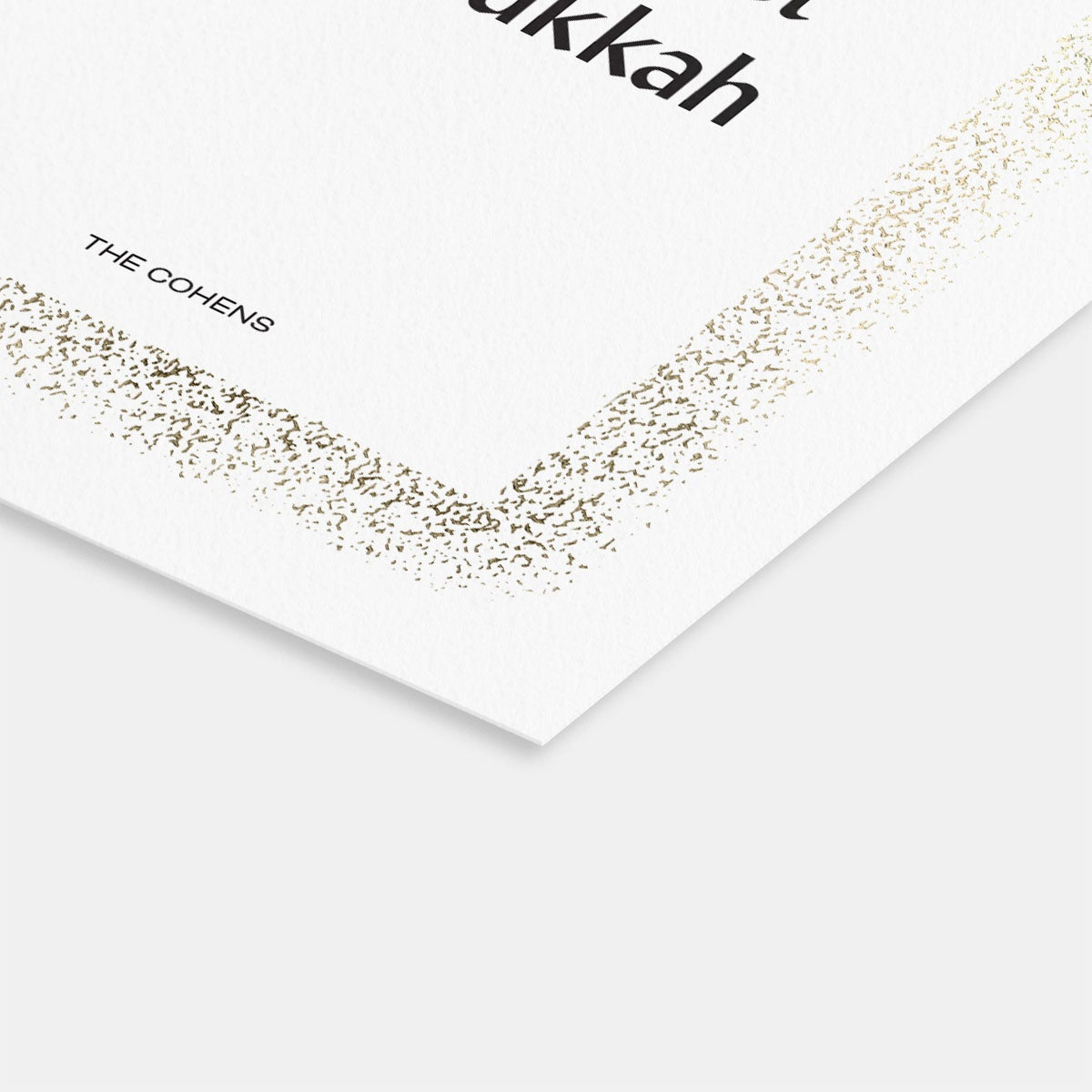 Speckled Glow Holiday Card