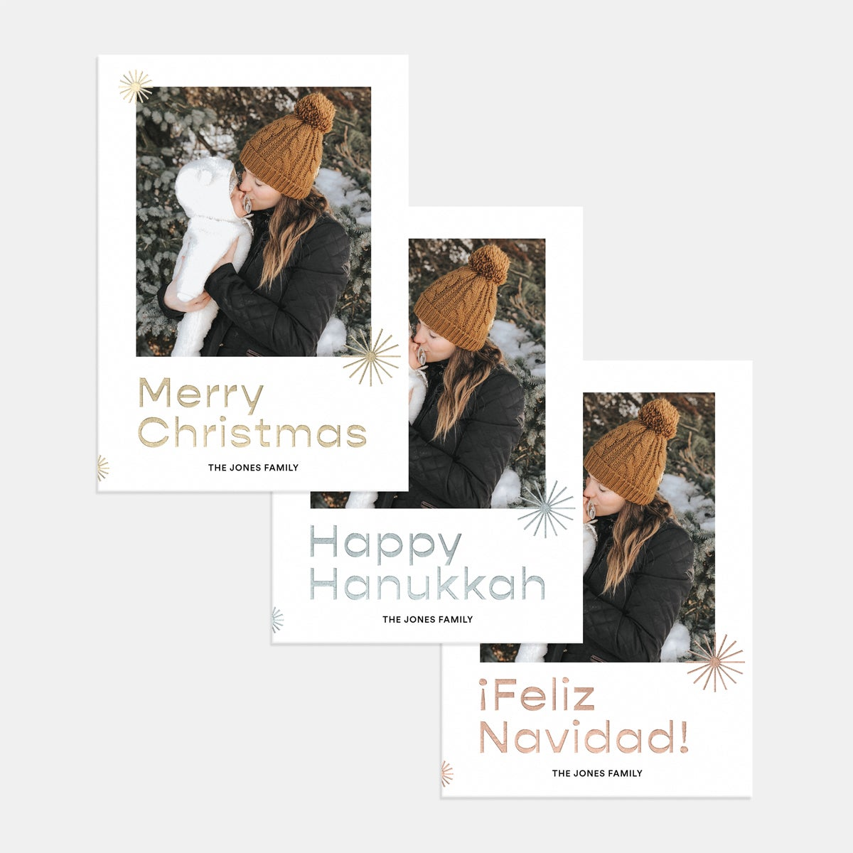Starry Holiday Card