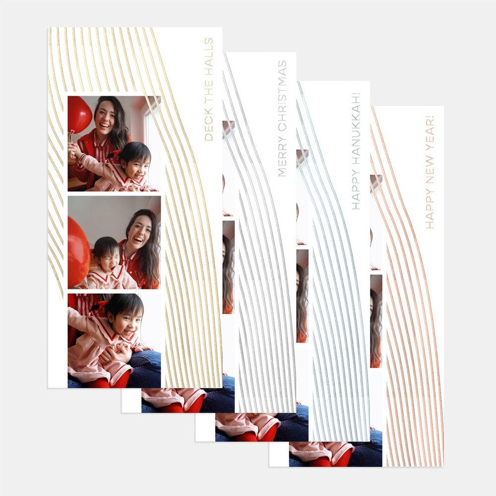 Tall Strokes Holiday Card