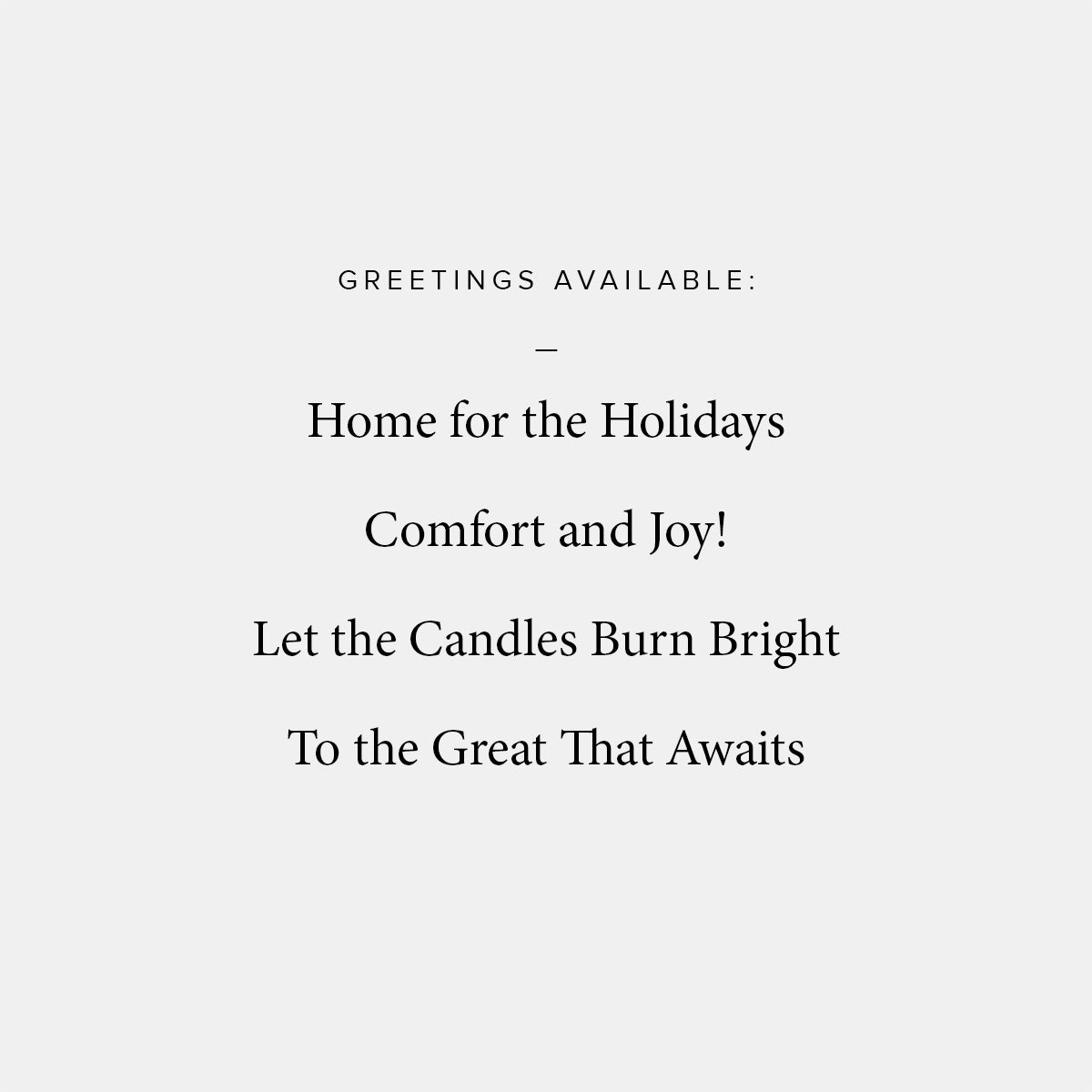 Tell On Holiday Card
