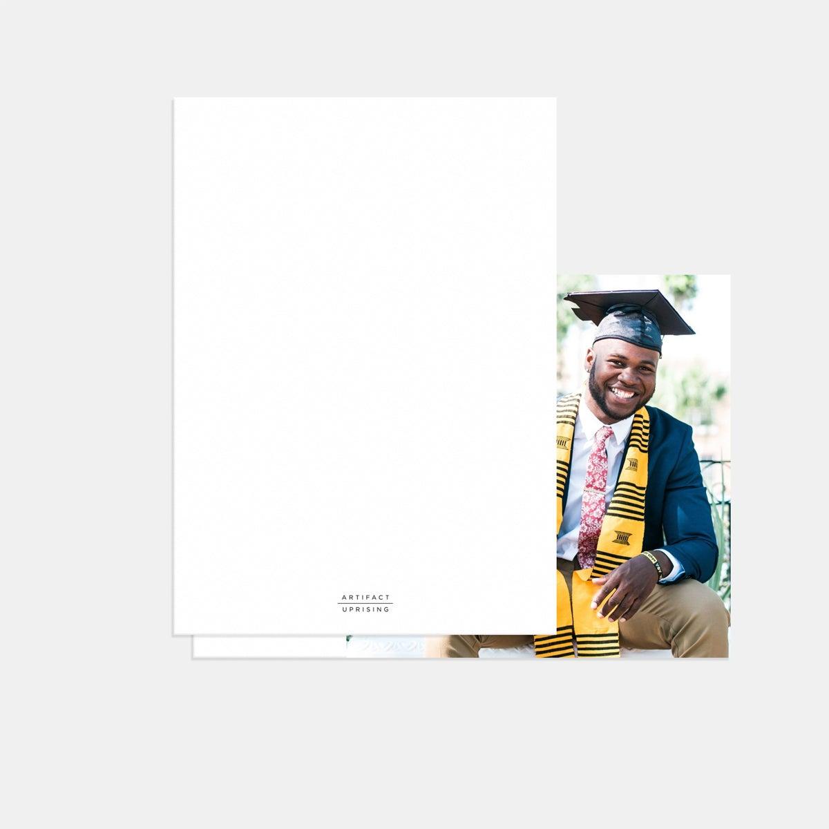 Timeless Graduation Announcement