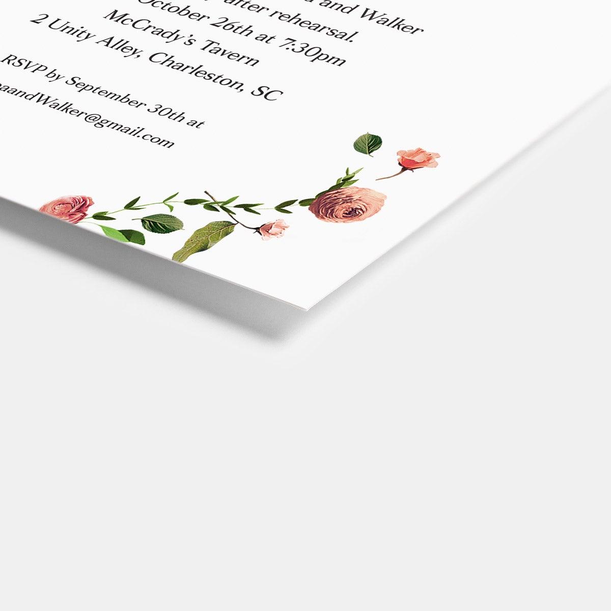 Venamour Botanical Enclosure Card