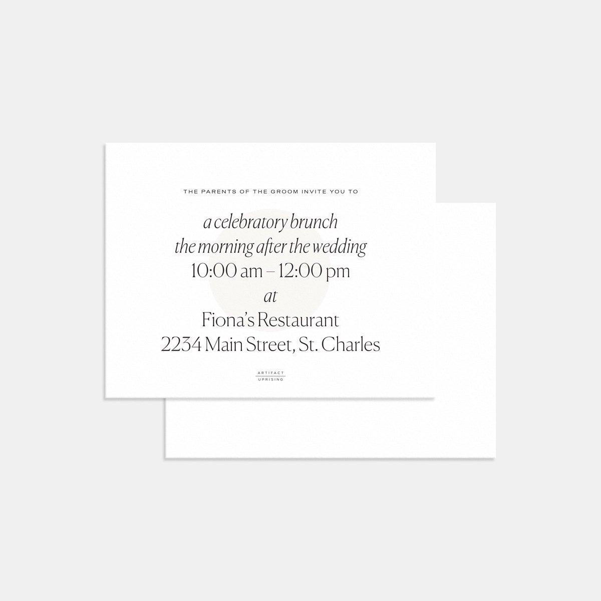 Geometric Enclosure Card