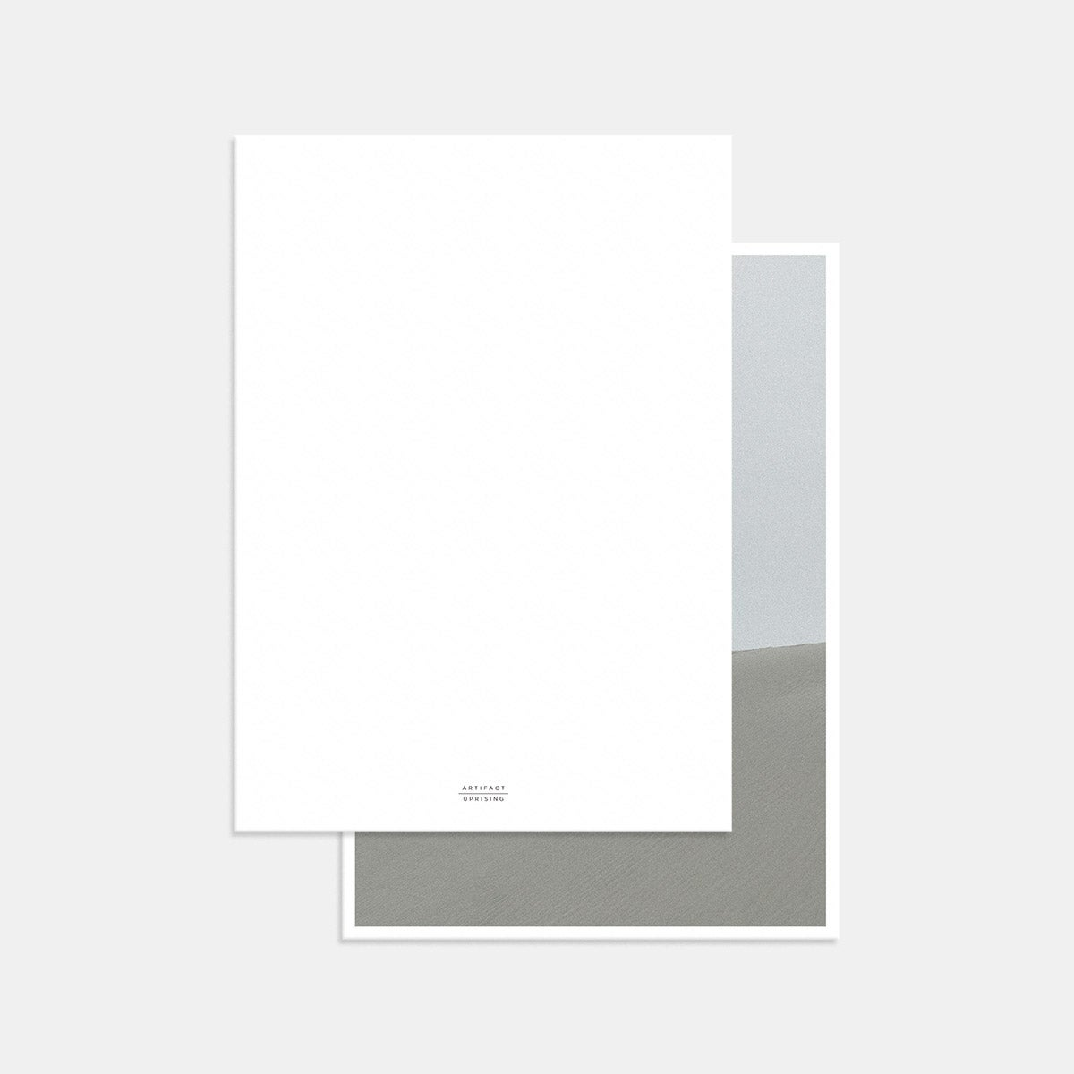 Foil-Stamped Contemporary Classic Thank You Card