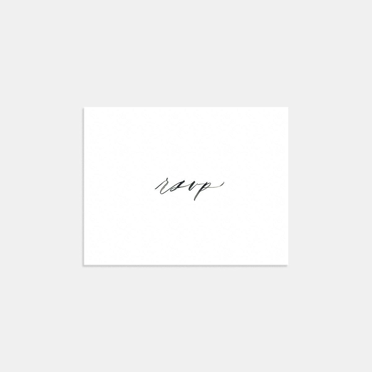 Image for Hand-lettering RSVP Card