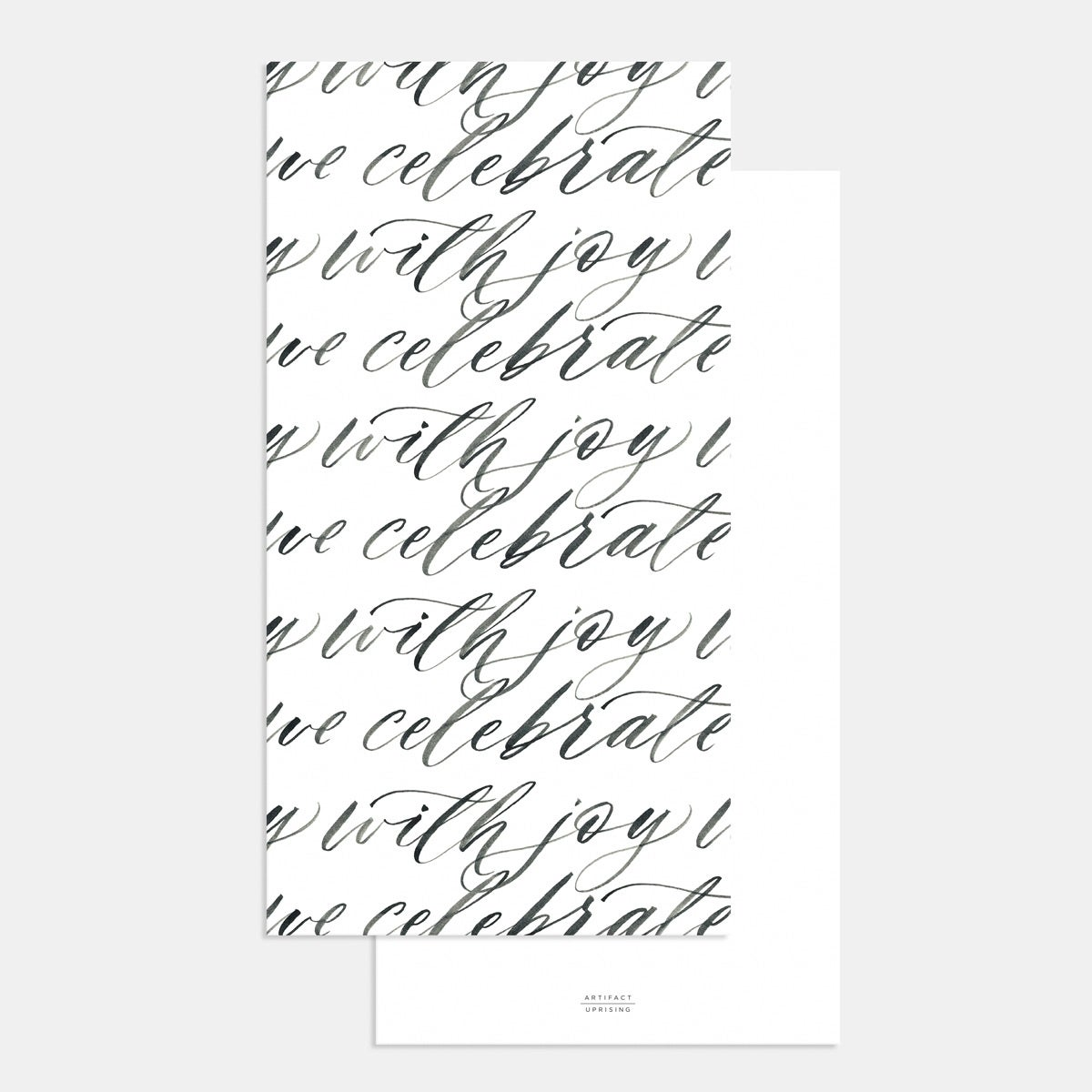 Image for Foil-Stamped Hand-Lettering Wedding Invitation