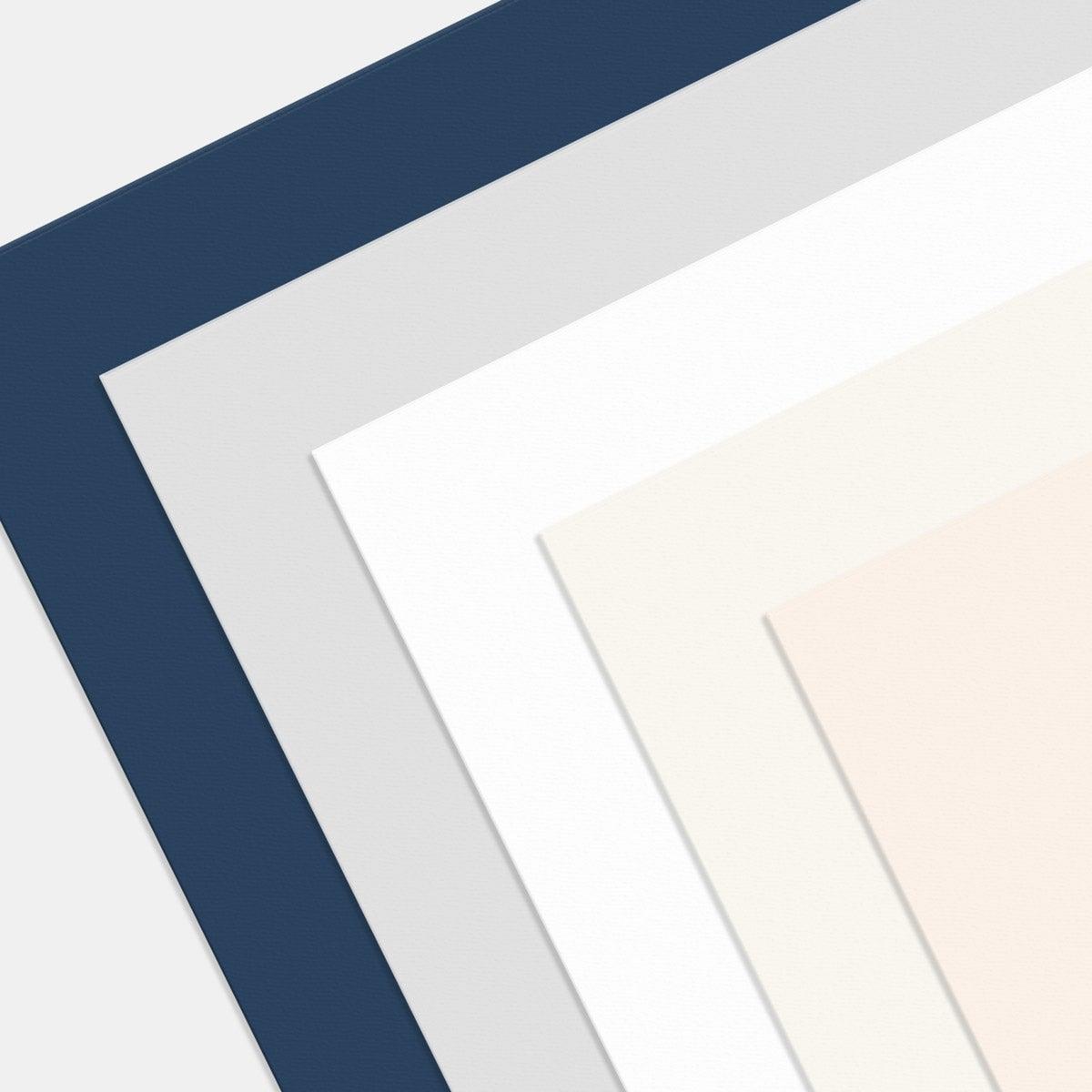 Letterpress Minimal Enclosure Card