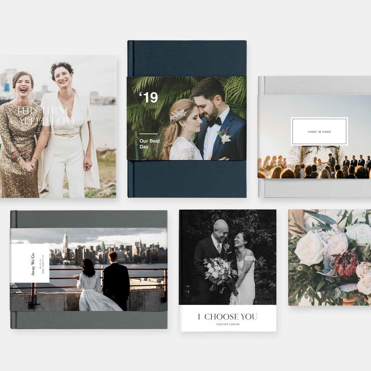 Hardcover Wedding Photo Book