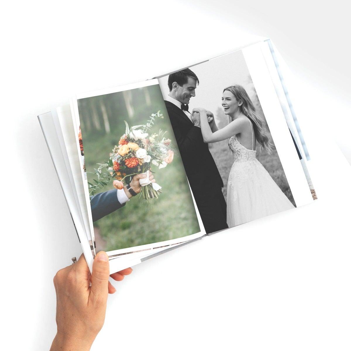 Hardcover Wedding Photo Book