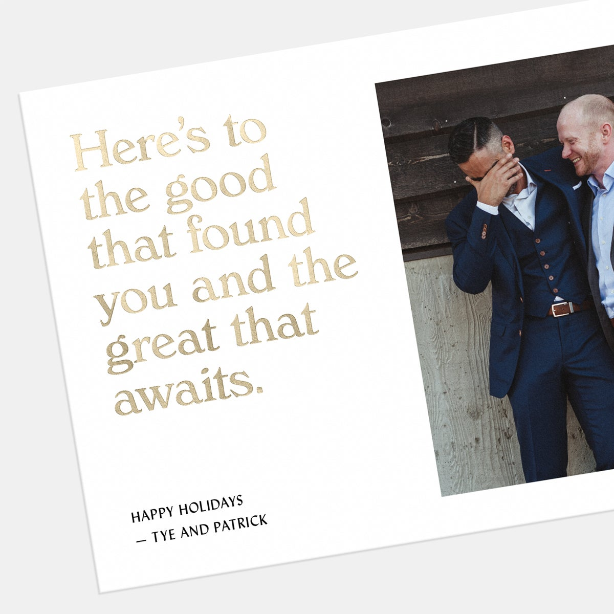 Well-Wishes Holiday Card